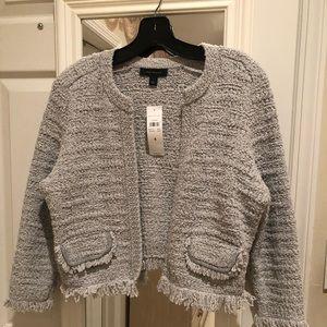Ann Taylor crop jacket NWT